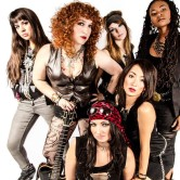 "The Rocket Queens ""all-female tribute to Guns 'N Roses"""
