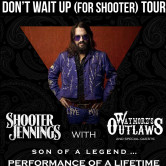 Shooter Jennings & Waymore's Outlaws with The Piedmont Boys