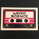 Weird Science 80's Cheese for Bridge Run Party