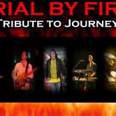 Trial by Fire (A JOURNEY TRIBUTE) on the Beach Stage