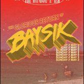 Baysik (Ryan Stasik and Brendan Bayliss of Umphrey's McGee)on the Bud Light Seltzer Beach Stage