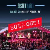Sister Hazel on the Bud Light Seltzer Beach Stage