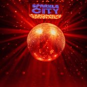 Sparkle City Disco on the inside stage