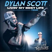 Dylan Scott on the Beach Stage
